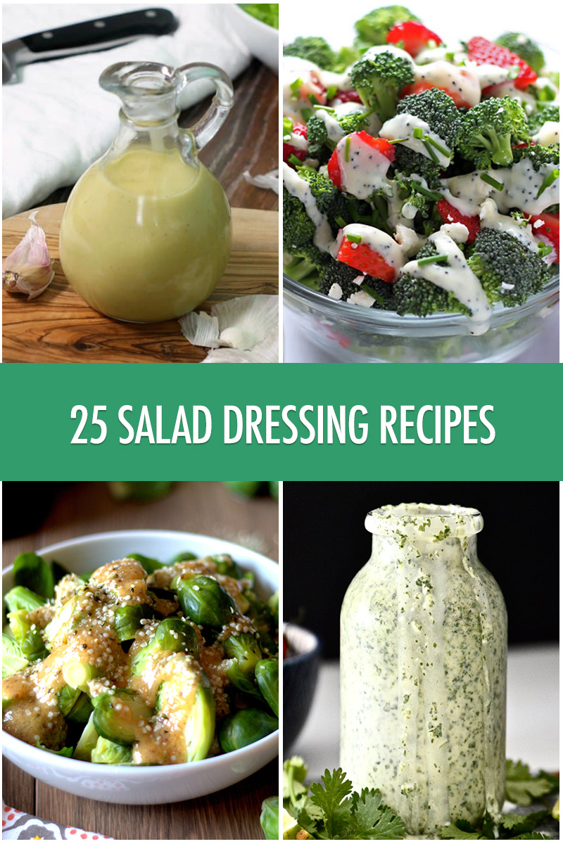25 Homemade Salad Dressing Recipes | Food Bloggers of Canada