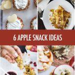 6 Apple Snack Recipe Ideas | Food Bloggers of Canada