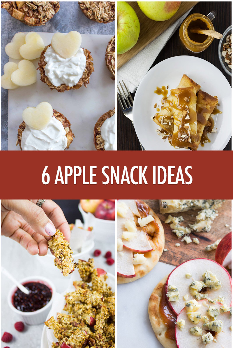 6 Apple Snack Recipe Ideas | Food Bloggers of Canada