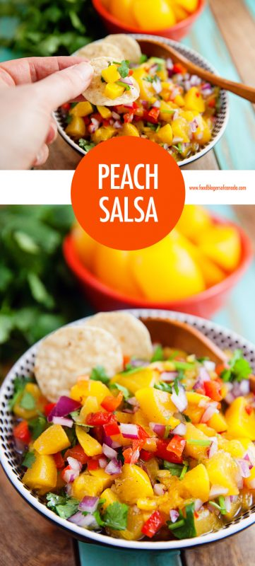 Peach Salsa Recipe | Food Bloggers of Canada