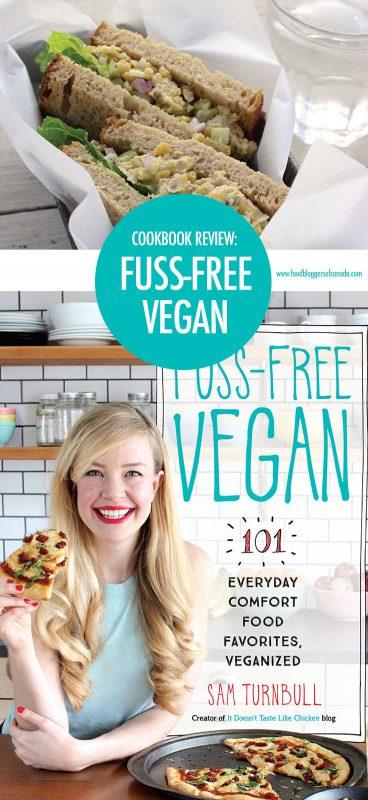 Cookbook Review: Fuss-Free Vegan   Food Bloggers of Canada