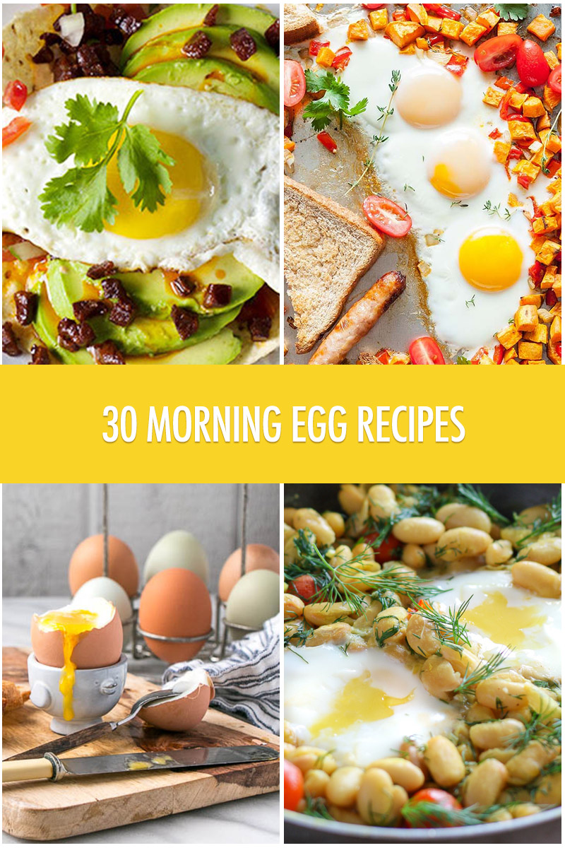 30 Morning Egg Recipes | Food Bloggers of Canada