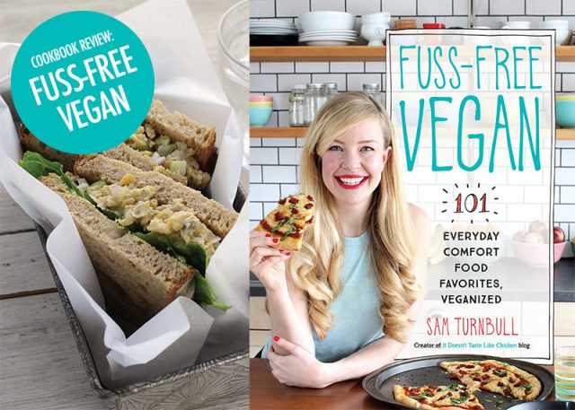 Fuss Free Vegan Cookbook Review | Food Bloggers of Canada