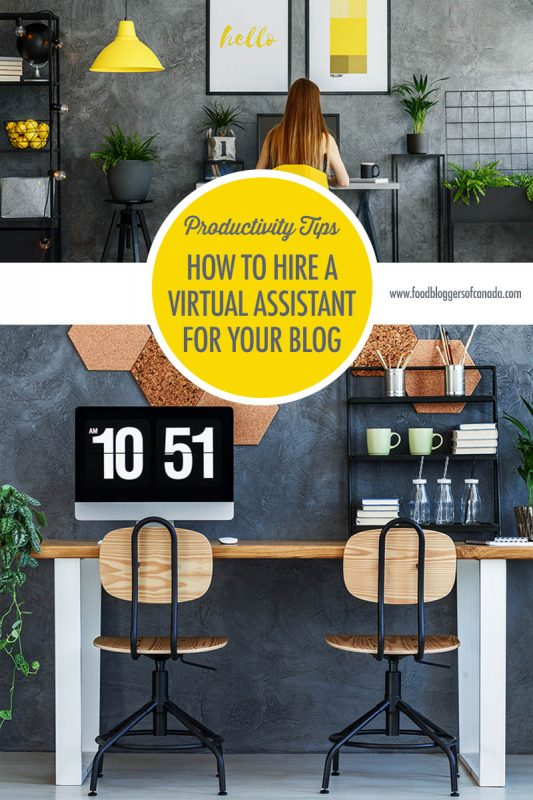 How To Hire A Virtual Assistant For Your Blog | Food Bloggers of Canada