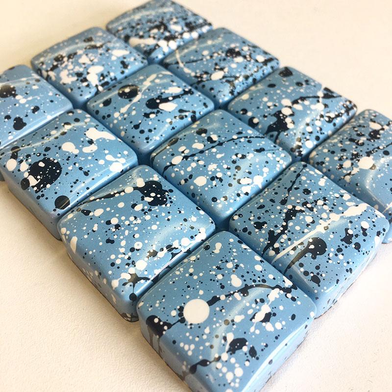 """That Gum You Like"" blue chocolates"