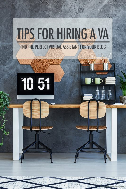 Tips For Hiring a VA | Food Bloggers of Canada