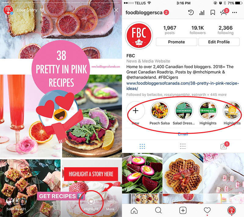 What's Working On Instagram For Food Bloggers Right Now | Food Bloggers of Canada