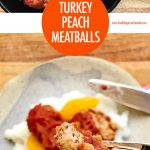 Easy Turkey Peach Meatballs | Food Bloggers of Canada