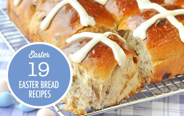 Easter Bread and Hot Cross Bun Recipe Ideas | Food Bloggers of Canada