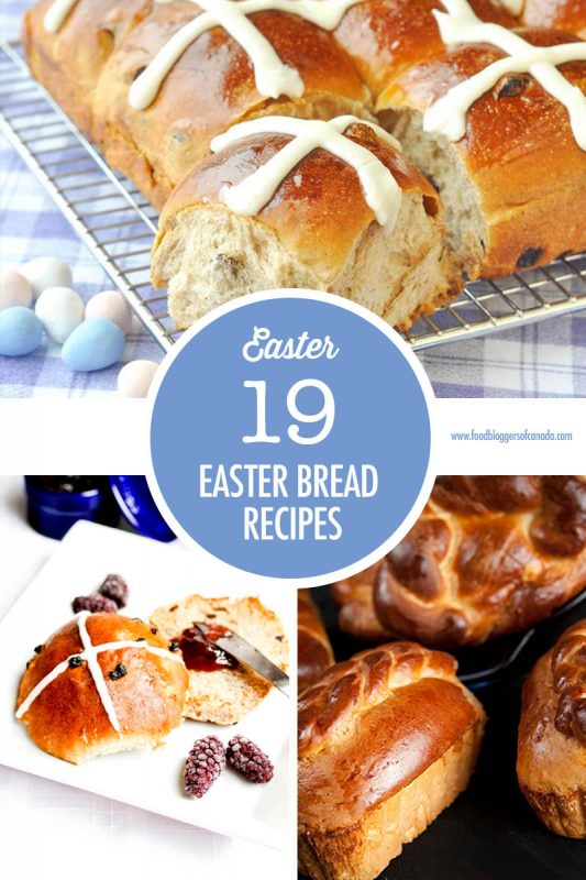 Easter Bread and Hot Cross Bun Recipe Ideas | Food Bloggers of Canada