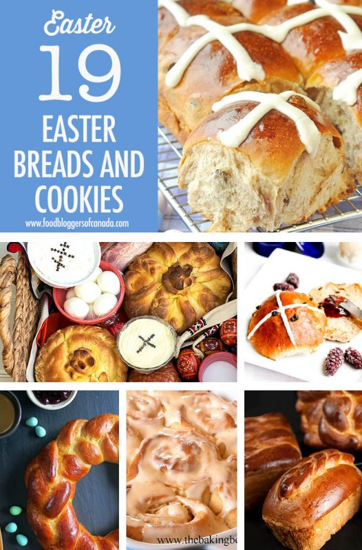 Easter Bread and Cookie Recipe Ideas | Food Bloggers of Canada