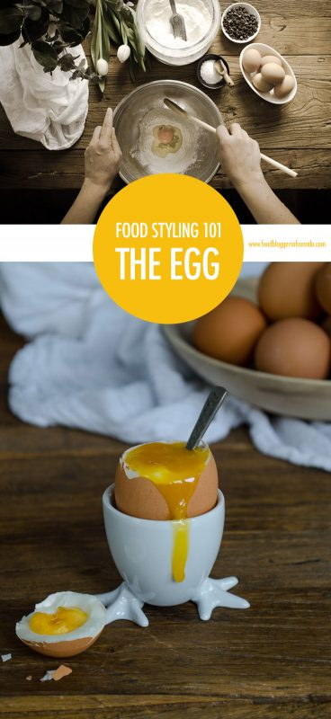 Food Styling The Egg | Food Bloggers of Canada