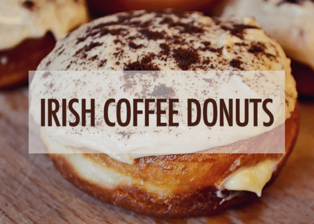 Irish Coffee Donuts