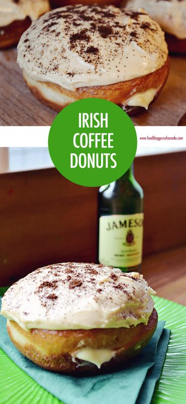 Irish Coffee Donuts | Food Bloggers of Canada