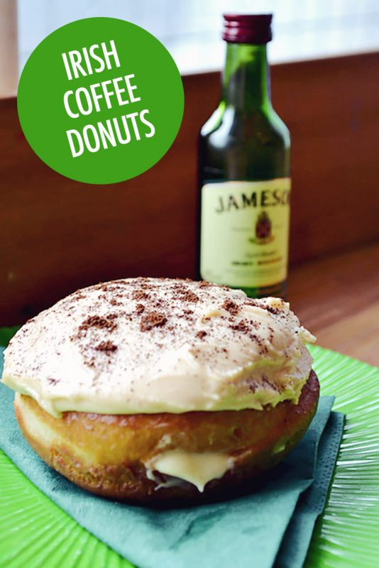 Irish Coffee Donut