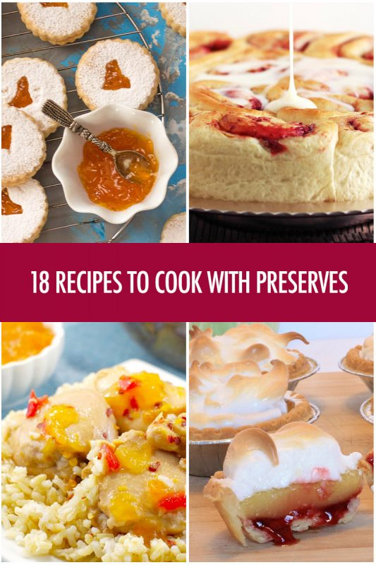 18 Recipes For Cooking With Preserves | Food Bloggers of Canada