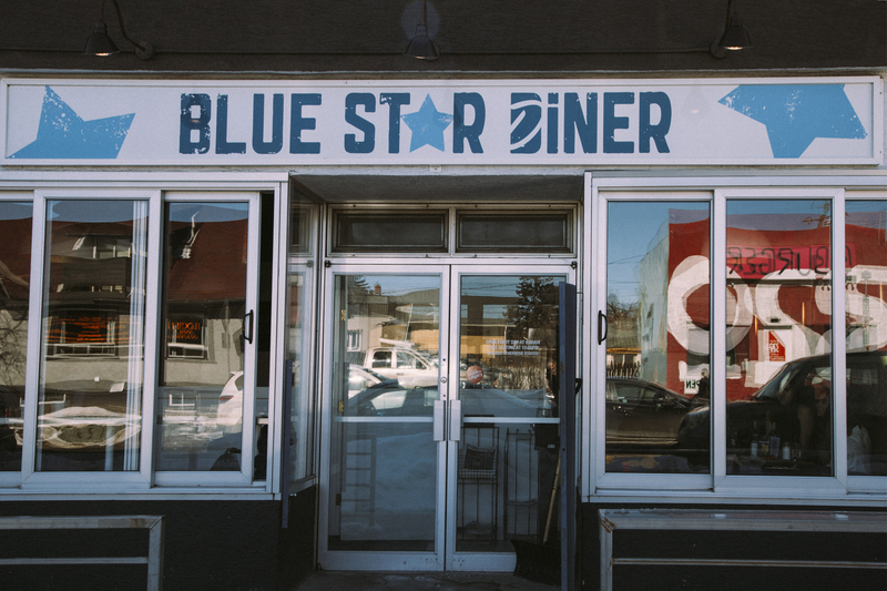 Restaurants Giving Back Dairy Lane and Blue Star Diner Calgary