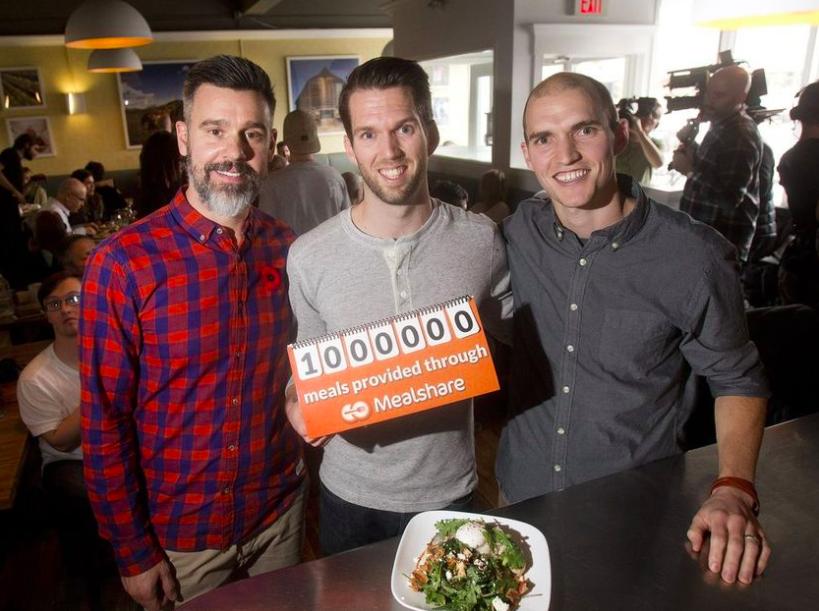Restaurants Giving Back Dairy Lane and Blue Star Diner Calgary