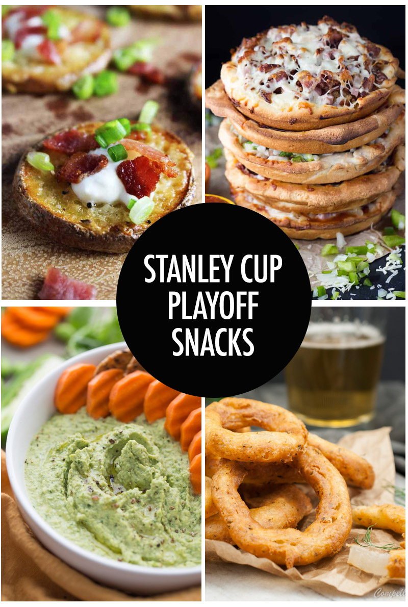 collage of appetizer recipes