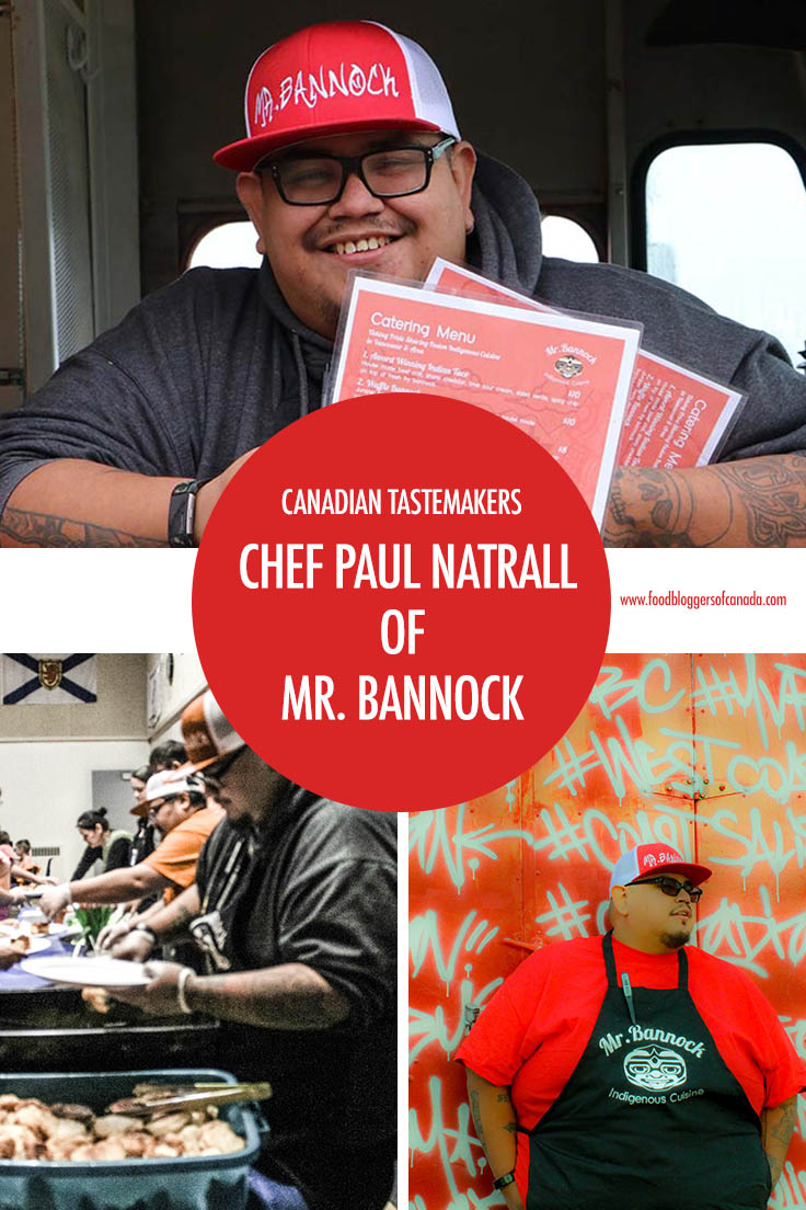 Chef Paul Natrall Mr. Bannock Pinterest