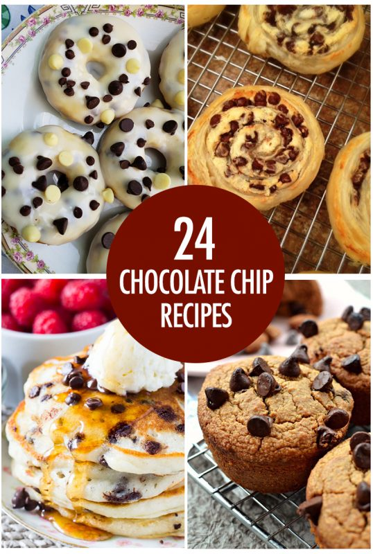24 Recipes for Chocolate Chips