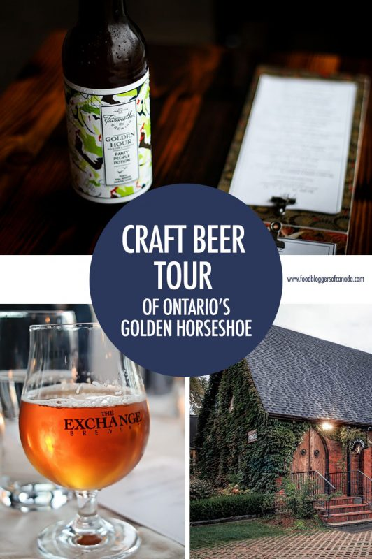 Hamilton and Niagara Craft Brewery Tour