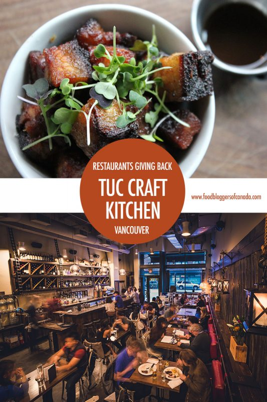 Restaurants That Give - Tuc Craft Kitchen