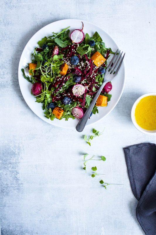 Spring Radish Beet Salad small