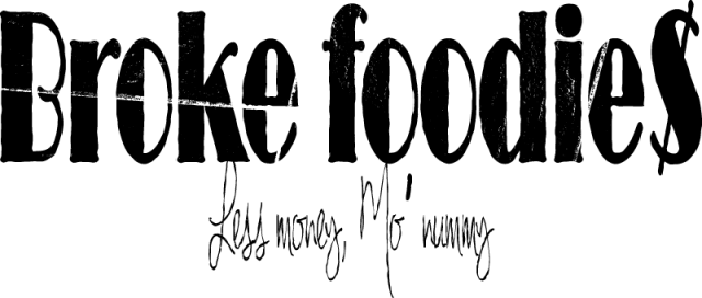Broke Foodies Logo