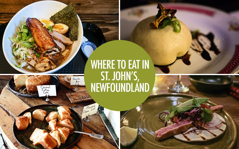 Where To Eat In St Johns Food Bloggers Of Canada