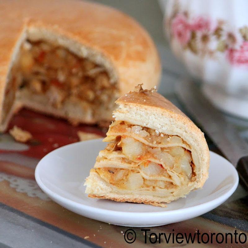 Layered Pastry (Aduku Roti)