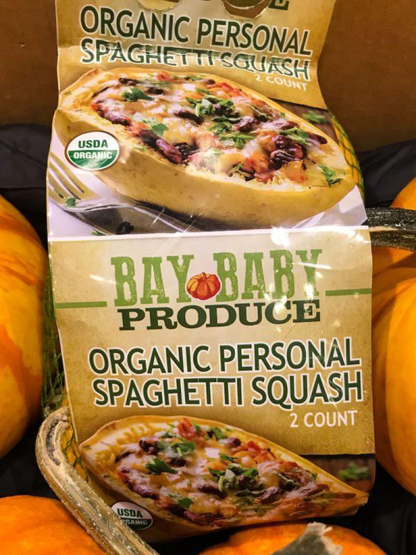 Personal Spaghettis Squash