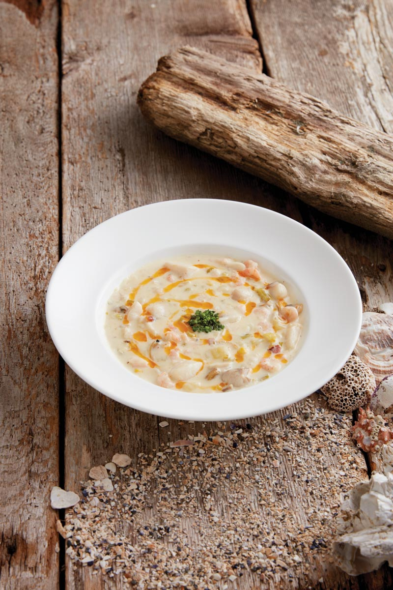 Clam and Corn Chowder The Wickanninish Inn