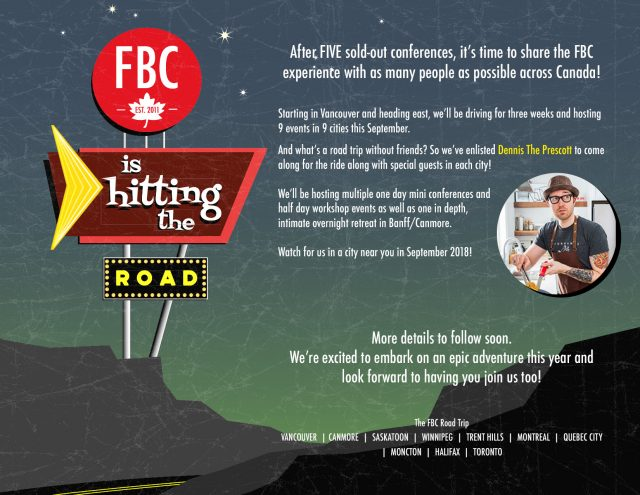 FBC2018 Great Canadian Roadtrip