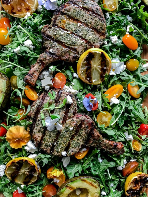 Food Styling Grilling Pork Chops-3