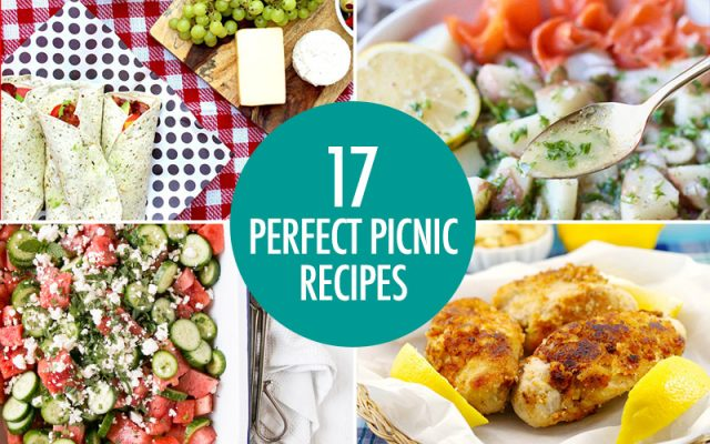 24 Perfect Picnic Dishes | Food Bloggers of canada