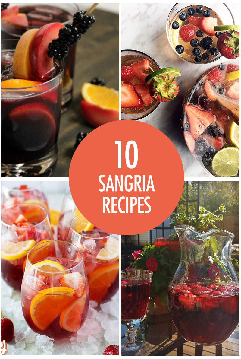 10 Refreshing Sangria Recipes | Food Bloggers of Canada
