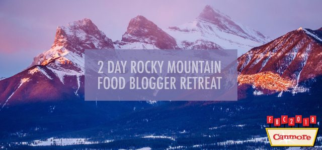 Canmore Blogging Retreat
