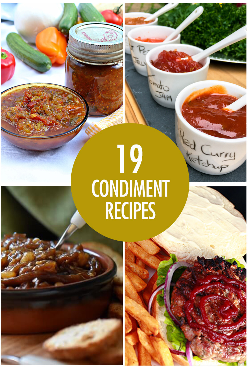 Homemade Condiment Recipes | Food Bloggers of Canada