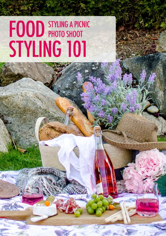 Food Styling a Picnic | Food Bloggers of Canada