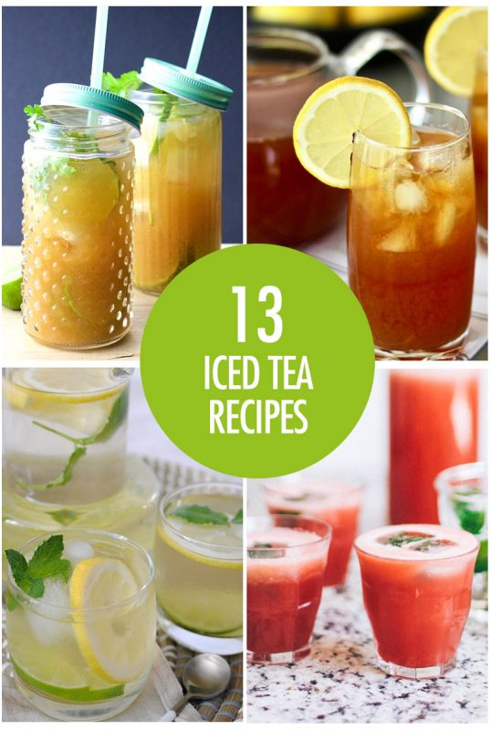 Iced Tea Recipes | Food Bloggers of Canada