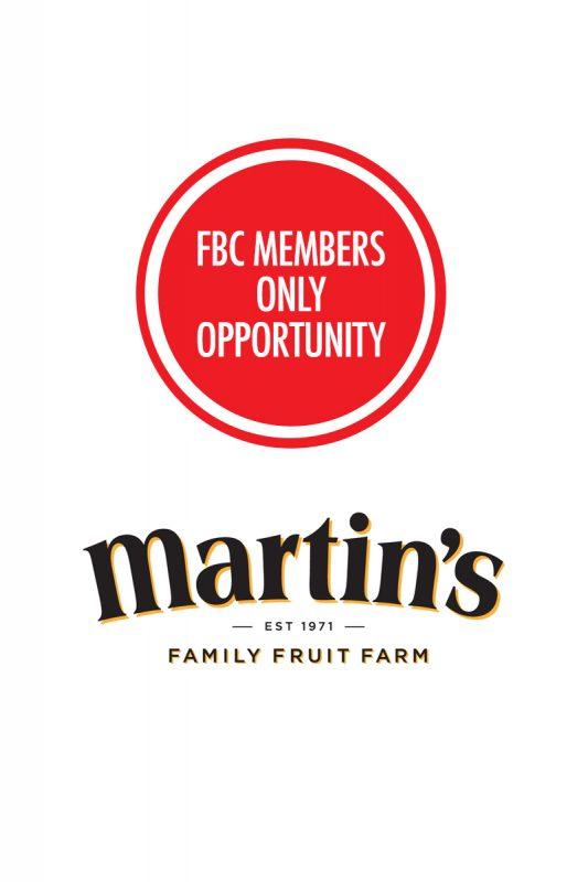 Martin's Family Fruit Farm FBC Member Opp
