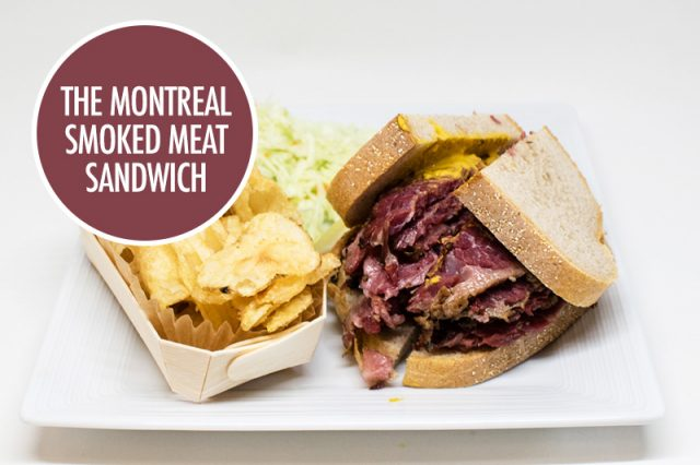 The Montreal Smoked Meat Sandwich
