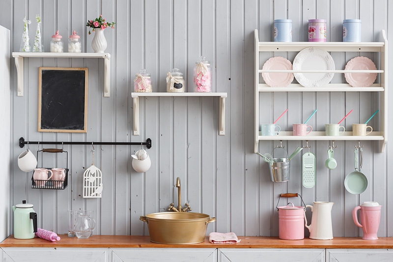 Pastel Modern Kitchen