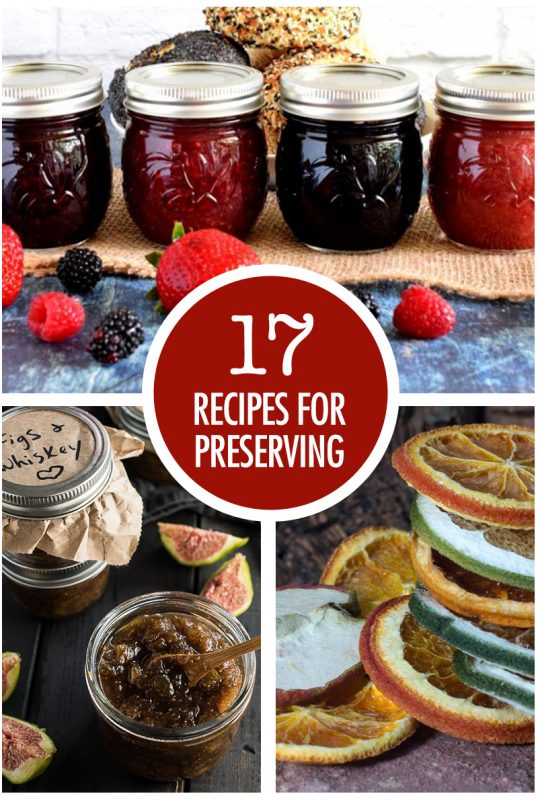 17 Recipes For Preserving Summer Bounty | Food Bloggers of Canada
