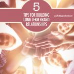 5 Tips For Building Long Term Brand Partnerships