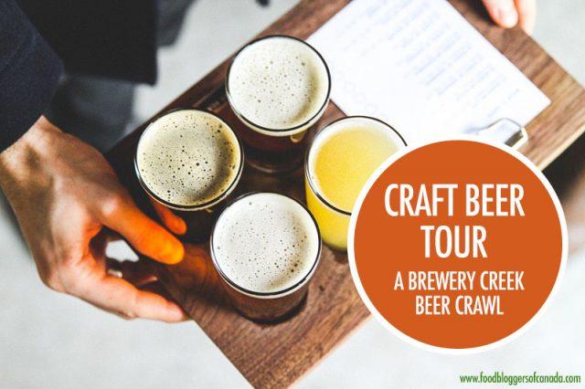 Craft Beer Crawl Brewery Creek | Food Bloggers of Canada