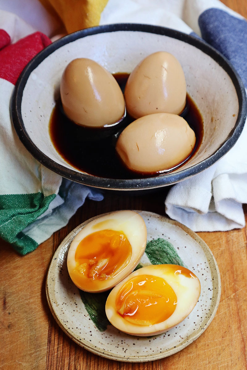 Soy Sauce Eggs (aka Shoyu Tomago) | Food Bloggers of Canada