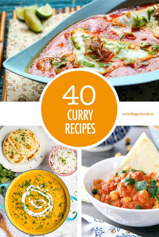 40 Curry Recipes | Food Bloggers of Canada