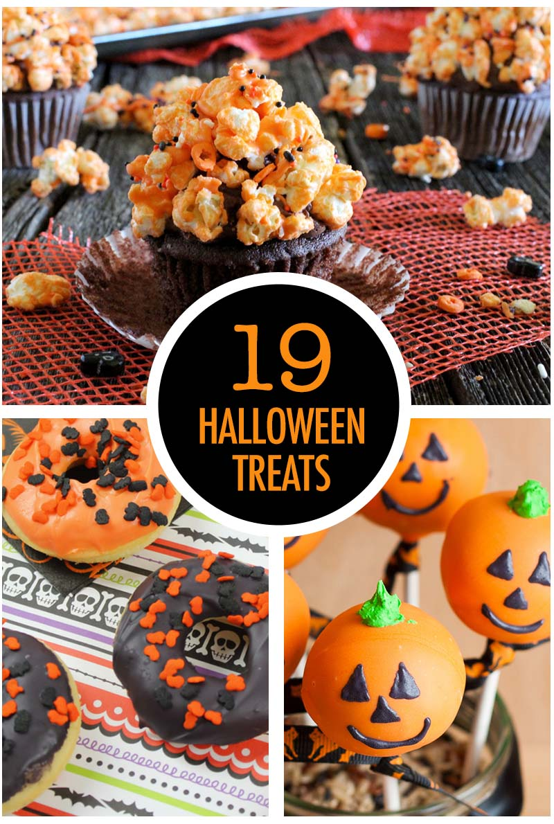 19 spooky halloween treats | food bloggers of canada